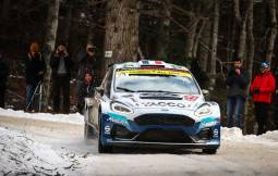 Monte-Carlo Rally 2020, with Adrien Fourmaux and Renaud Jamoul
