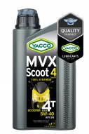 100% synthèse Moto / Quad / Karting Yacco MVX SCOOT 4 SYNTH 5W40